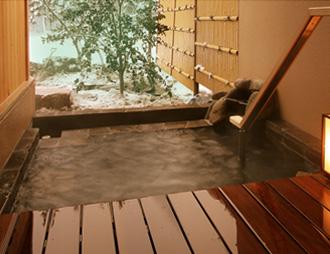 庭園露天風呂付和洋室